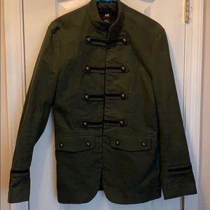 Army Green H&M Blazer